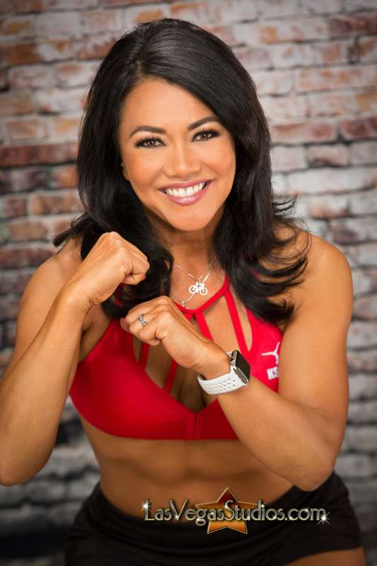 Women's Headshot for Fitness Instructor