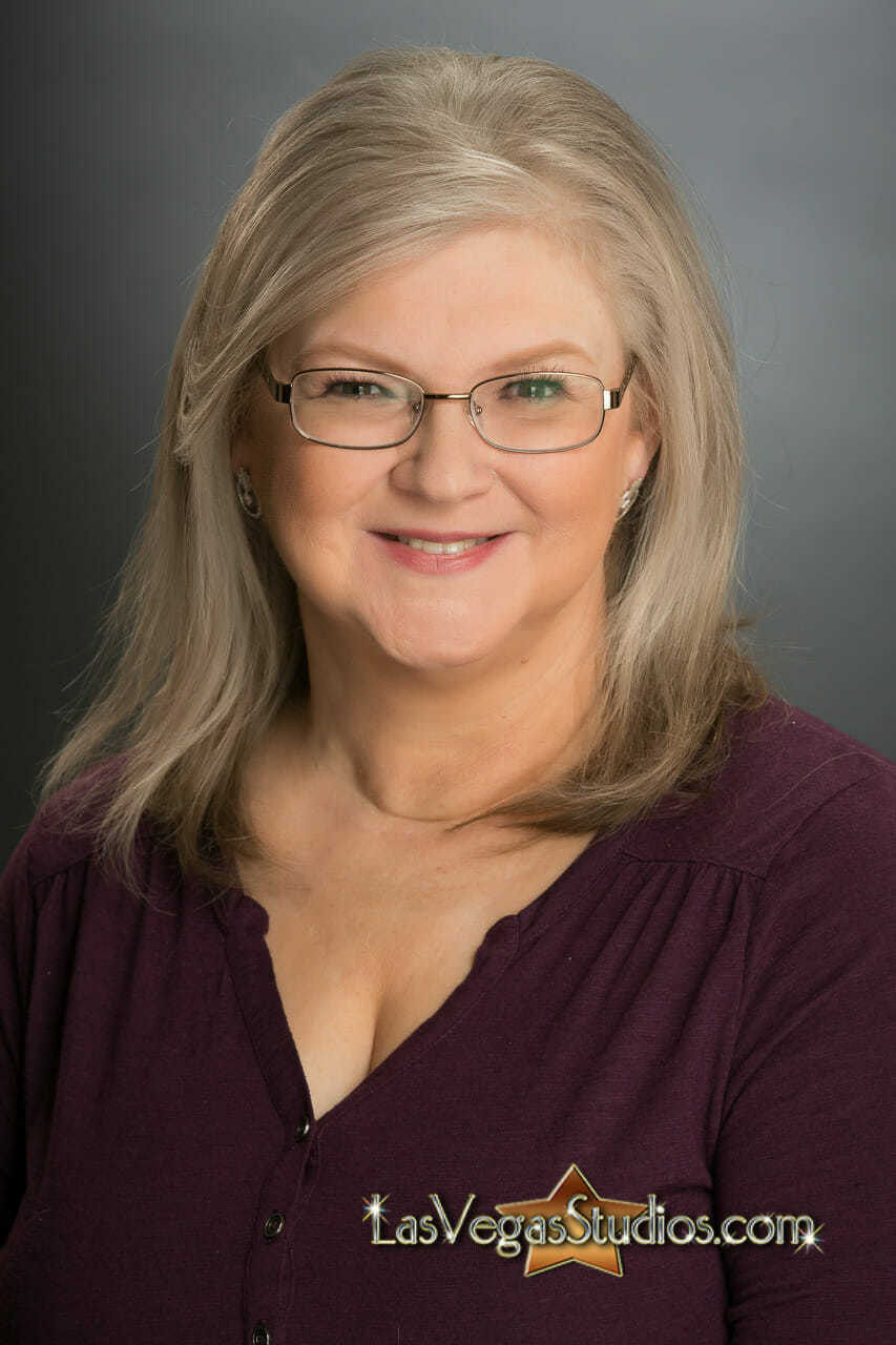 mature women's business headshot